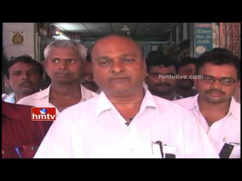 Gold Shop Owners Protest on Central Excise Duty in Prakasam Dist | HMTV