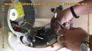 Hajdu villanybojler vezetékcsere ( bojlerjavítás )
