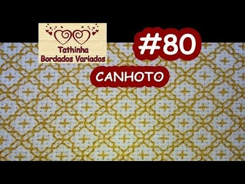 BORDADO ORIENTAL / SASHIKO EMBROIDERY PARA CANHOTOS - Tathinha Bordados #80