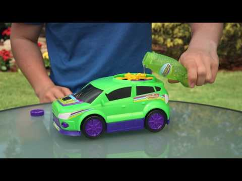 Gazillion BUBBLE CAR BUBBLE MACHINE - How to video