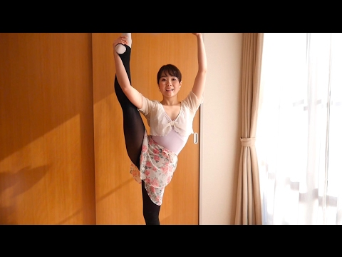 Y字バランスを高める3つのコツ How to improve standing side splits