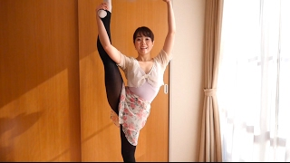 Y字バランスを高める3つのコツ How to improve standing side splits y字バランス 検索動画 1