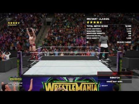Wrestlemania 34 Daniel Bryan & Shane Mcmahon vs Kevin Owen & Sami Zayn