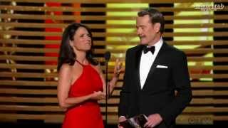 Julia Louis-Dreyfus didn't remember Bryan Cranston (Korean sub)