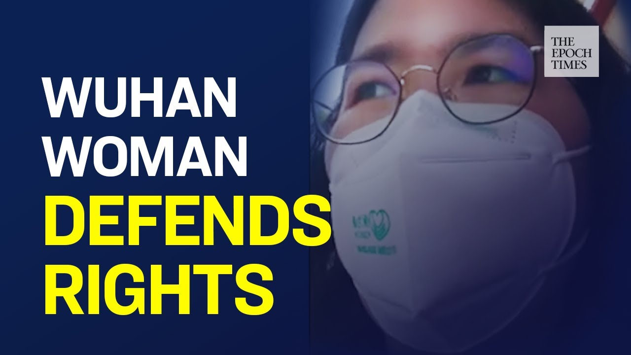 Brave Young Woman in Wuhan Demands Her Rights Be Respected