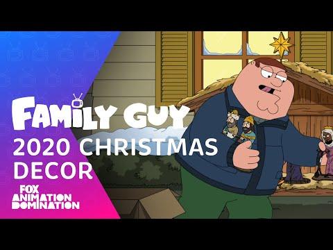 2020 Christmas Decor | Season 19 Ep. 9 | FAMILY GUY