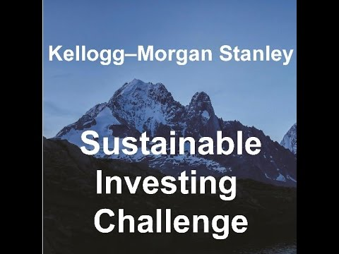 Learn About The Kellogg Morgan Stanley Sustainable