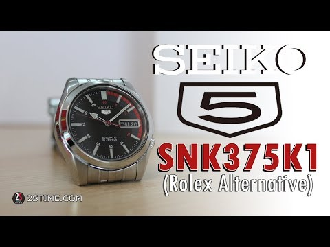 SEIKO 5 Series SNK375K1 | Sporty - Dress Watch Under 150