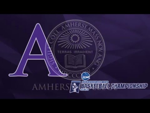 Amherst Men's Basketball NCAA Second Round Post-Game Press Conference (March 5, 2016)