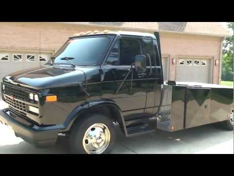 1994 Chevrolet Ramp Truck Roll Back Toy Hauler 454 Gas For Sale See