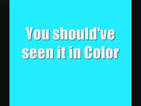 Jamey Johnson In Color lyrics