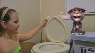 Мой говорящий Том в реальной жизни Том хочет в туалет