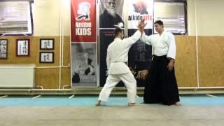 aihanmi katatedori nikyo omote [TUTORIAL] Aikido empty hand basic technique: