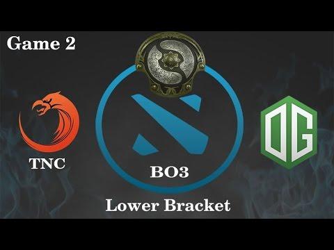 TNC vs OG Highlights Game 2, TI 6 Main Event Lower Bracket