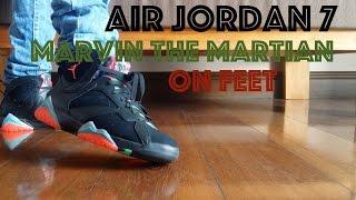 Air Jordan 7 Retro Marvin the Martian (MTM) / Barcelona Nights On Feet