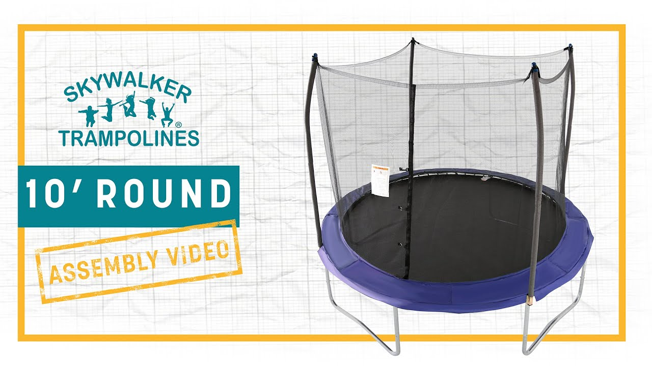 Skywalker Trampolines 10' Round Assembly Video