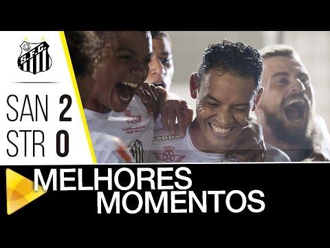 Santos 2 x 0 The Strongest | MELHORES MOMENTOS | CONMEBOL Libertadores Bridgestone (16/03/17)