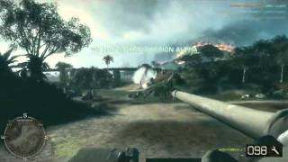 Battlefield bad company 2 online multiplayer tank gameplay Vietnam (PC)