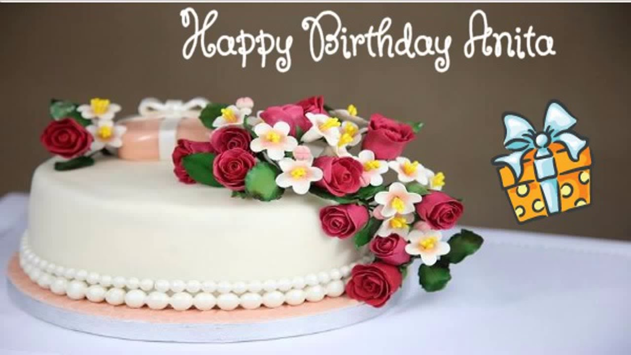Happy Birthday Anita Image Wishes YouTube