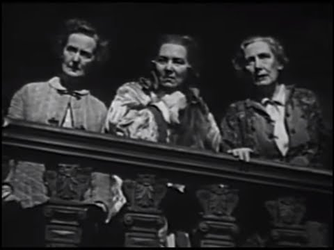 The Three Weird Sisters c1947 (Classic Welsh drama)