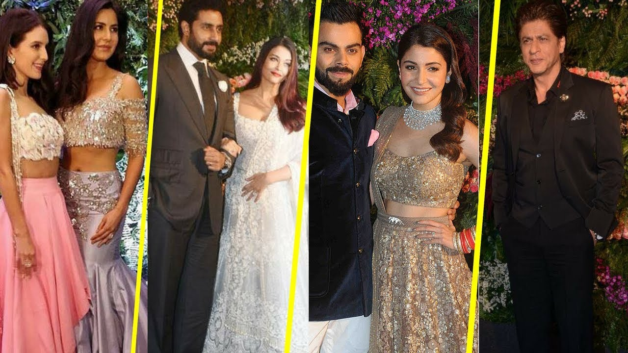 Anushka Sharma And Virat Kohli Wedding Reception Party Full Hd Video