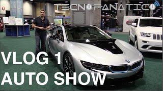 Vlog 1 vamos al AutoShow de Washington DC