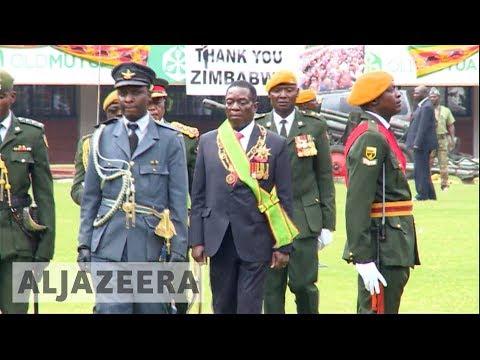 Emmerson Mnangagwa sworn in as Zimbabwe president