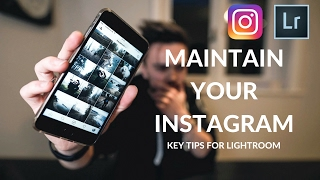 How To Maintain A Theme On Instagram ( Lightroom Tutorial )