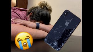 I dropped my new iPhone X Max!!!