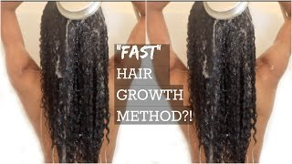 "HOW TO|Hair Growth Method to Grow Long Hair Fast ""Natural Hair"""