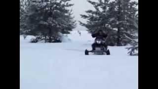 Снегоход Динго Т125 испытания