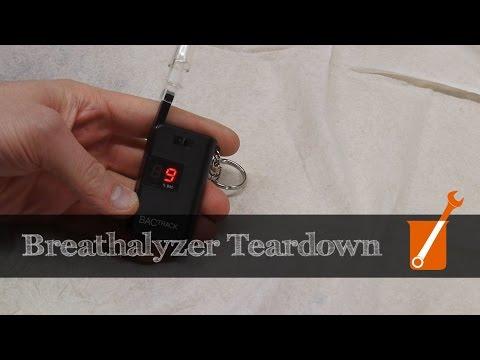 How A Breathalyzer Works (alcohol Sensor)