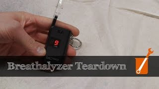 How a breathalyzer works (alcohol sensor)