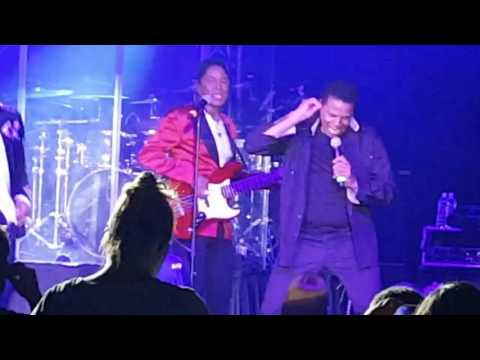 The Jacksons in Concert: Lincoln City, Oregon 20th May 2016