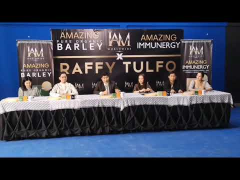 SIR RAFFY TULFO is already the AMBASSADOR  of IAM WORLDWIDE 😱