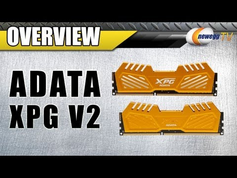 ADATA XPG V2 16GB DDR3 SDRAM Desktop Memory Overview - Newegg TV