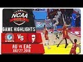 NCAA 94 MB: AU vs. SSC-R | Game Highlights | July 27, 2018