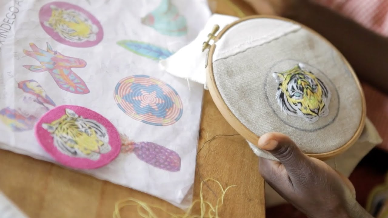 Embroidered Patch Collection With Indego Africa  Youtube