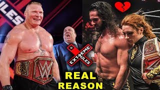 Seth Rollins & Becky Lynch Breaking Up? Real Reasons Why Brock Lesnar Won the Universal Title