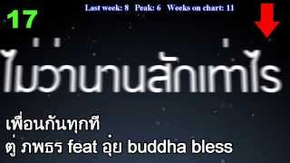 Thailand Airplay Chart Top 20 [15/03/2014]