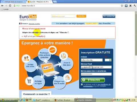 Tuto Gagner entre 10 et 90 € par jour avec Euroclix !