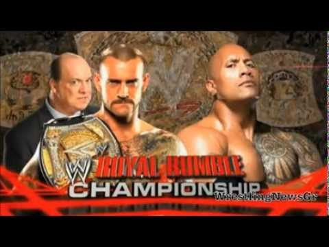 Official wwe tlc 2012 match card hd doovi - Night of champions 2010 match card ...