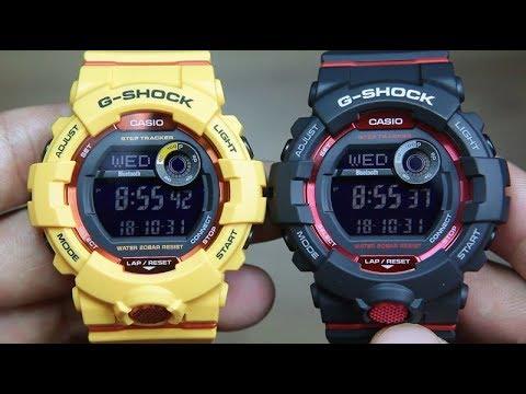 CASIO G-SHOCK GBD-800-4 VS G-SHOCK GBD-800-1 - YouTube e3eb510b5be