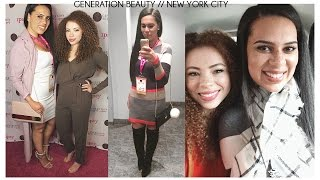 Generation Beauty NYC with Summer Kellsey Vlog