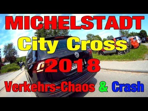 Michelstadt City Cross 2018 feat. Verkehrs-Chaos & Crash