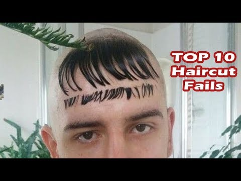 Top 10 worst haircut fails (haircuts gone wrong)