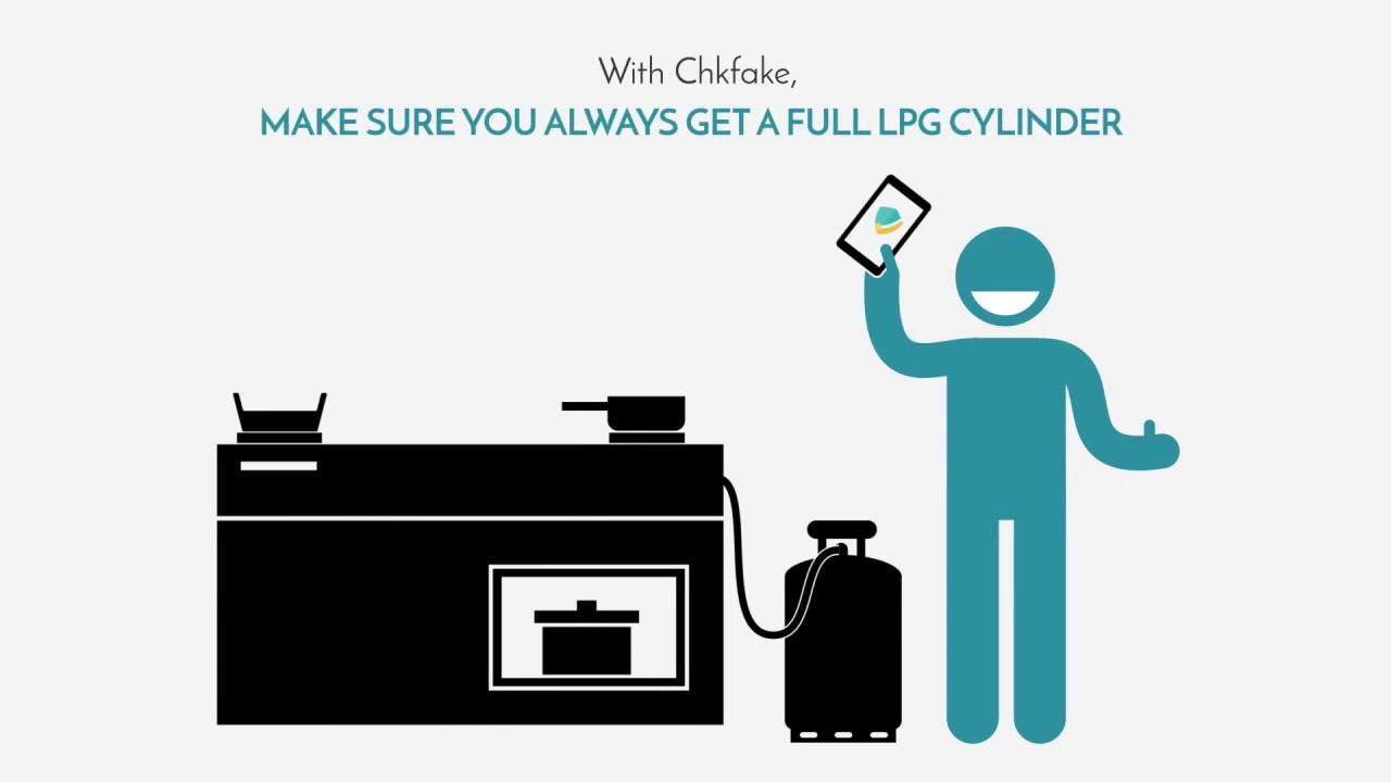 Chkfake - Verify Genuine LPG Gas Cylinders
