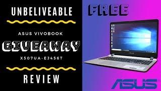 Asus VivoBook X507UA - EJ456T   Giveaway   Review