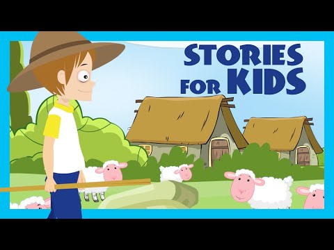 The Shepherd Boy And The Wolf | Story Compilation | Moral Story | Kids Hut - Kids Channel