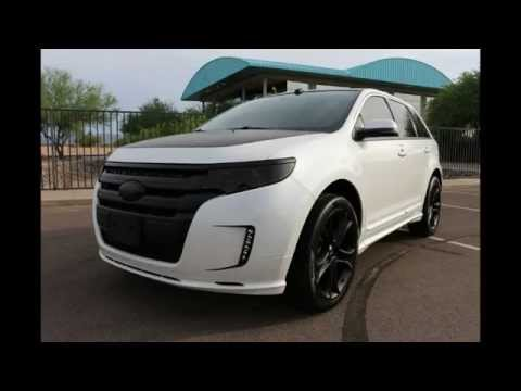 2013 ford edge sport awd custom youtube. Black Bedroom Furniture Sets. Home Design Ideas